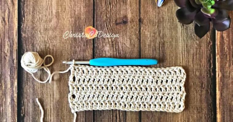 Crochet Standing Stitches Photo Tutorial