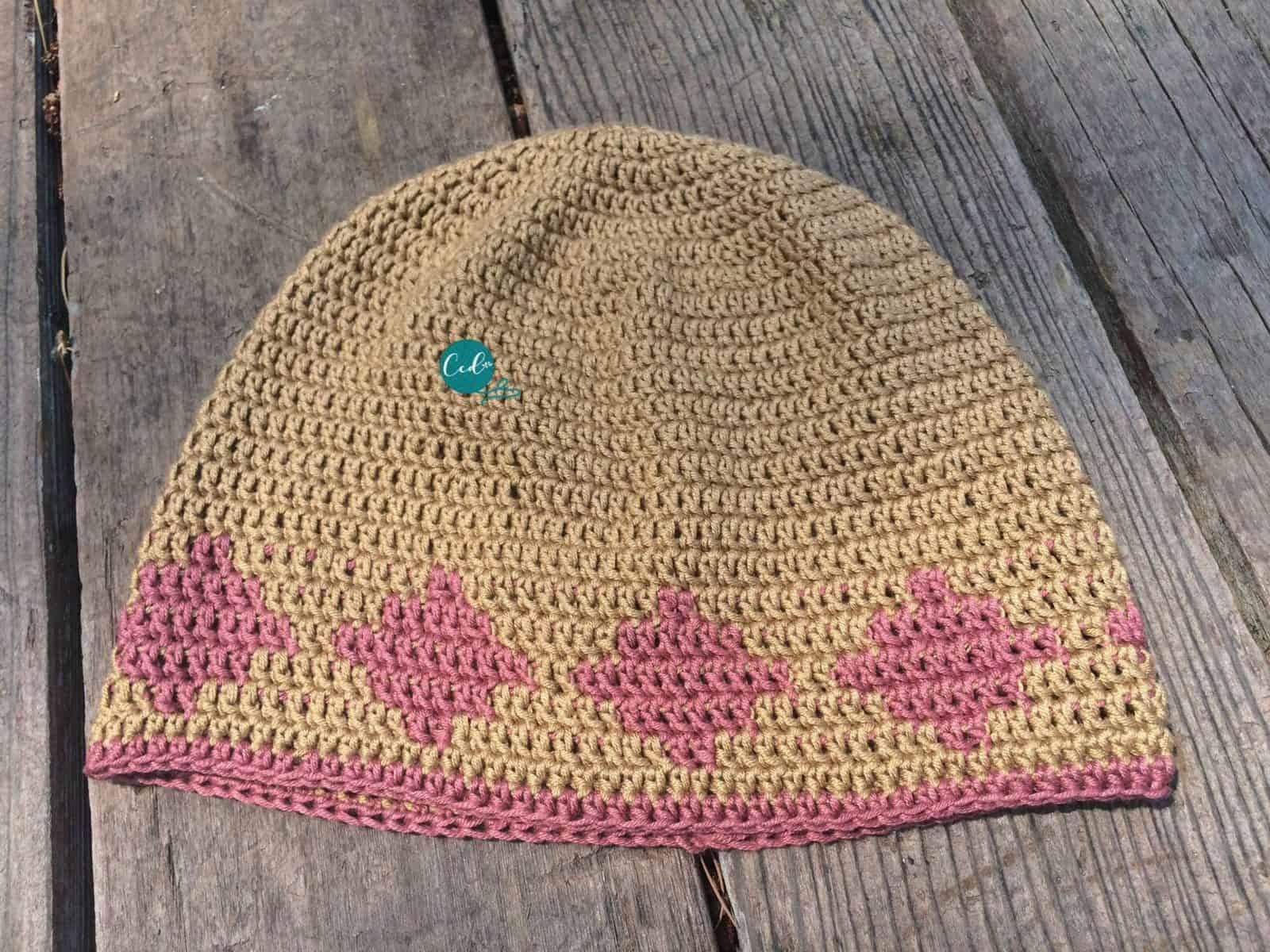 Crochet Summer Chemo Cap Pattern - ChristaCoDesign