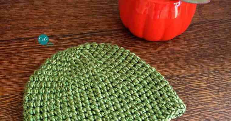 Mini Puff Stitch Crochet Hat Tutorial