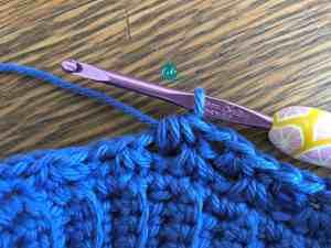 single crochet cluster