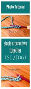 single crochet two together