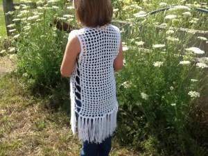 Maglia Crochet Mesh Vest Pattern Christacodesign