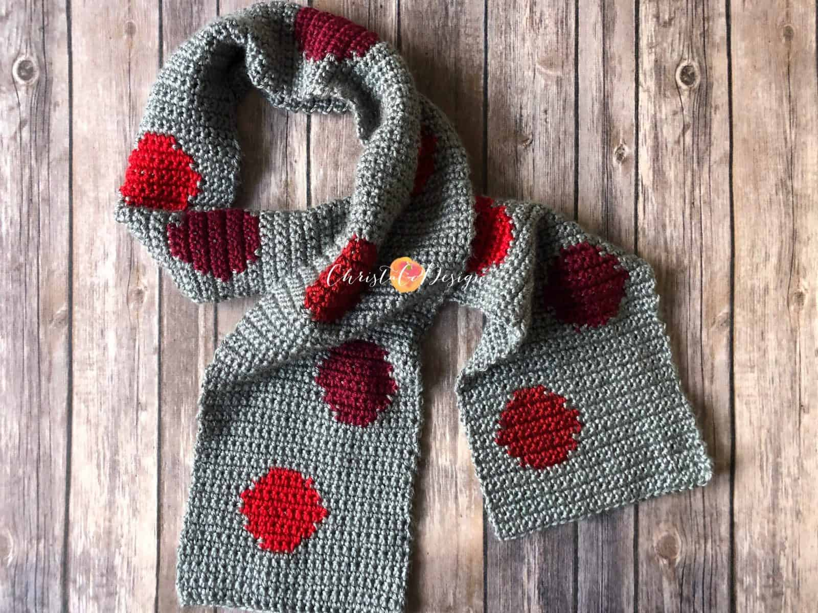 The Rossi Scarf a Free Crochet Pattern