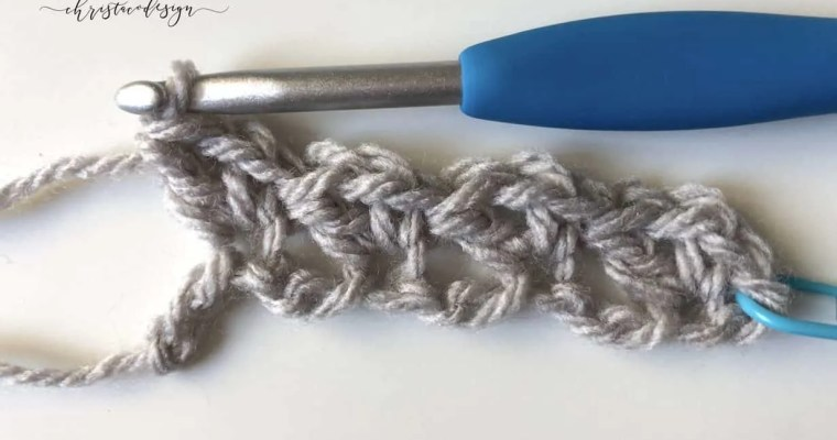 Wattle Stitch Crochet Tutorial