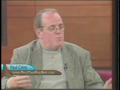 """Painting with Paul Crimi - Paul Crimi discusses contemporary Christian Art on """"This Is The Day"""""""