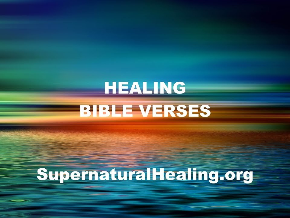 12 Healing Bible Verses With instrumental Soft worship, prayer music, healing music, audio bible