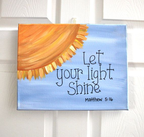 Great Idea For Diy Canvas Painting Not Biblical Sayings But Short Inspirati
