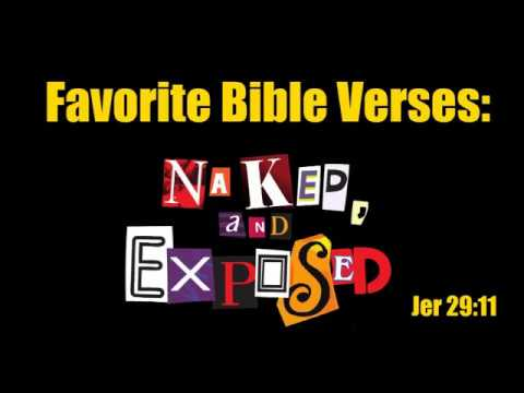 Favorite Bible Verses: Naked, and Exposed (Jeremiah 29:11)