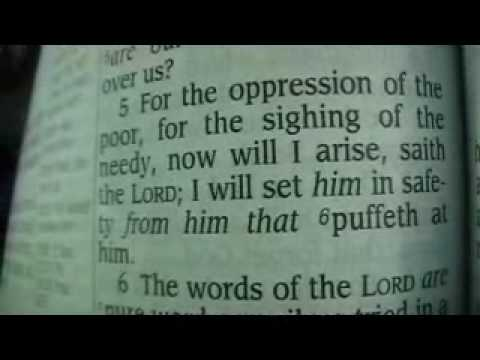 Psalm 12 King James Holy Bible