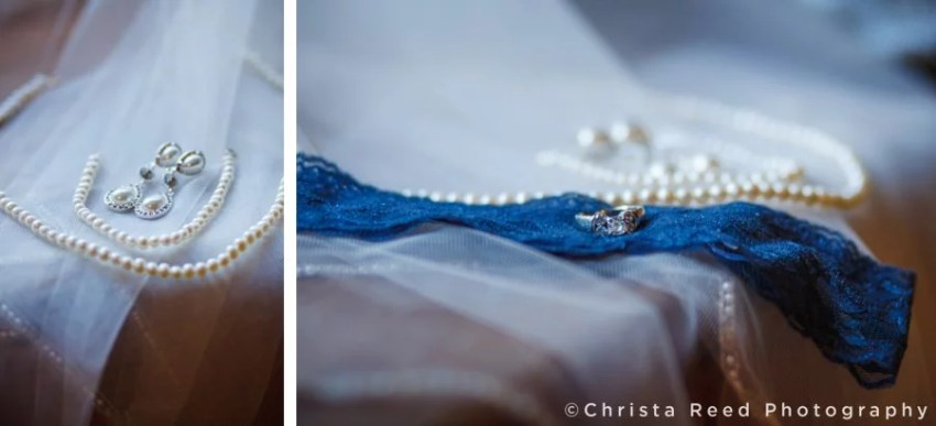 Pearl earrings and necklace for wedding in Belle Plaine