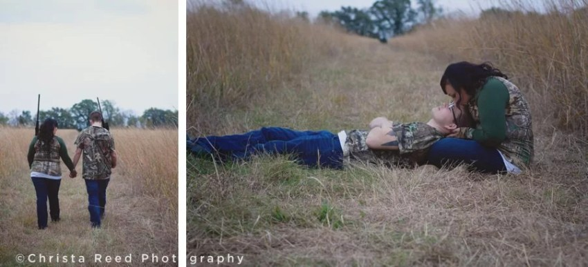 romantic outdoor engagement in chaska