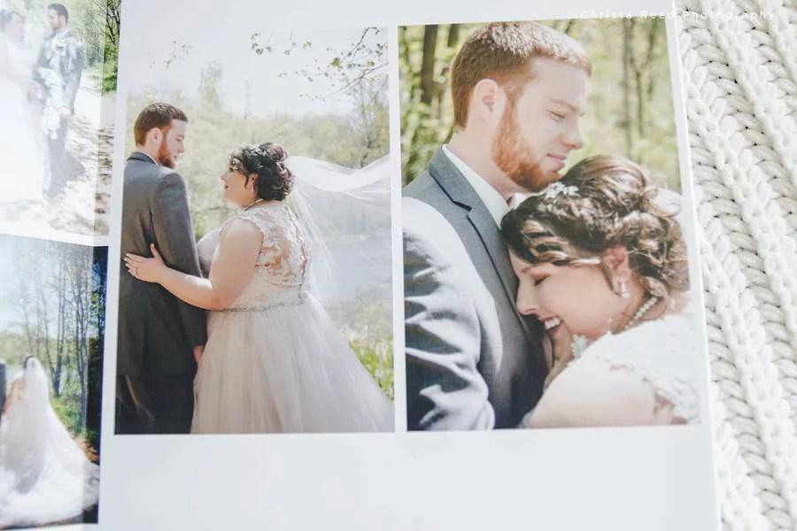 wedding album large print