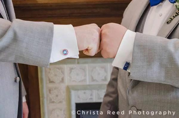 captain america cuff links for groomsmen
