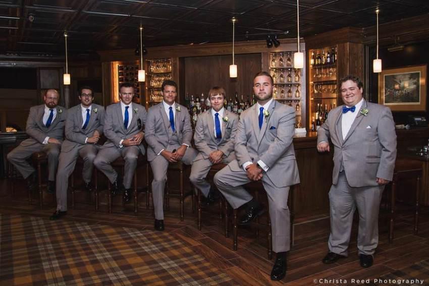 groomsmen at the bar chanhassen dinner theatres