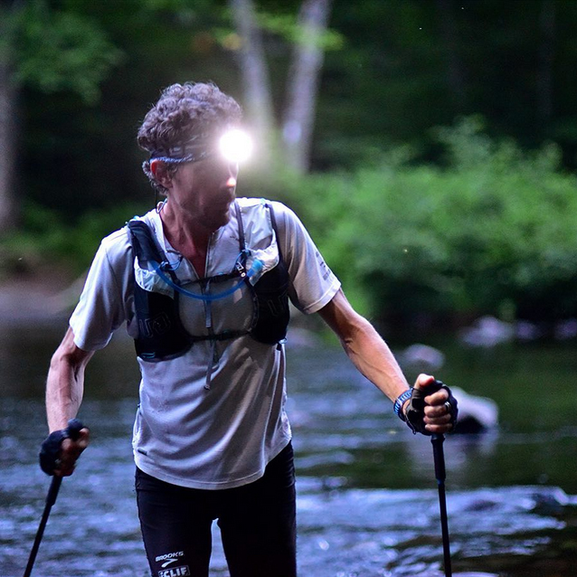 Scott Jurek in the 100 Mile Wilderness - By Chris Clemens