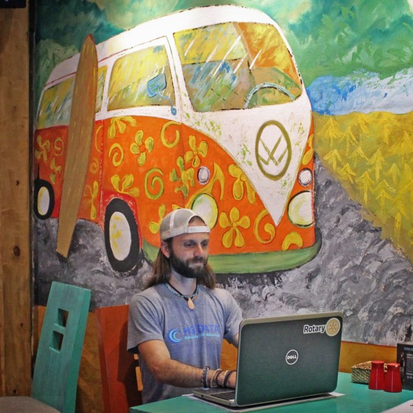 Chris Tarzan Clemens - Cuenca Cafe