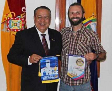 Chris Tarzan Clemens - Rotary Club of Cuenca