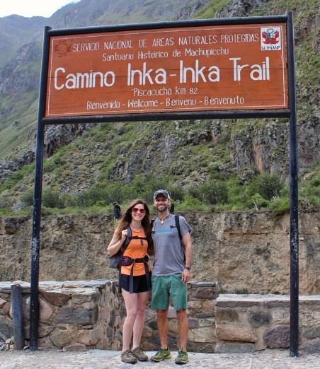 Chris Tarzan Clemens - Brandy Hockersmith - Inca Trail