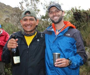 Chris Tarzan Clemens - Inca Trail Champagne
