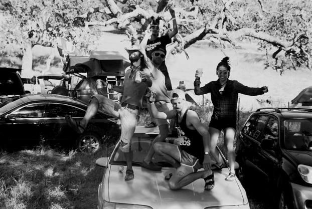 Chris Tarzan Clemens - Born To Run Car Molly Phillips-Nugent
