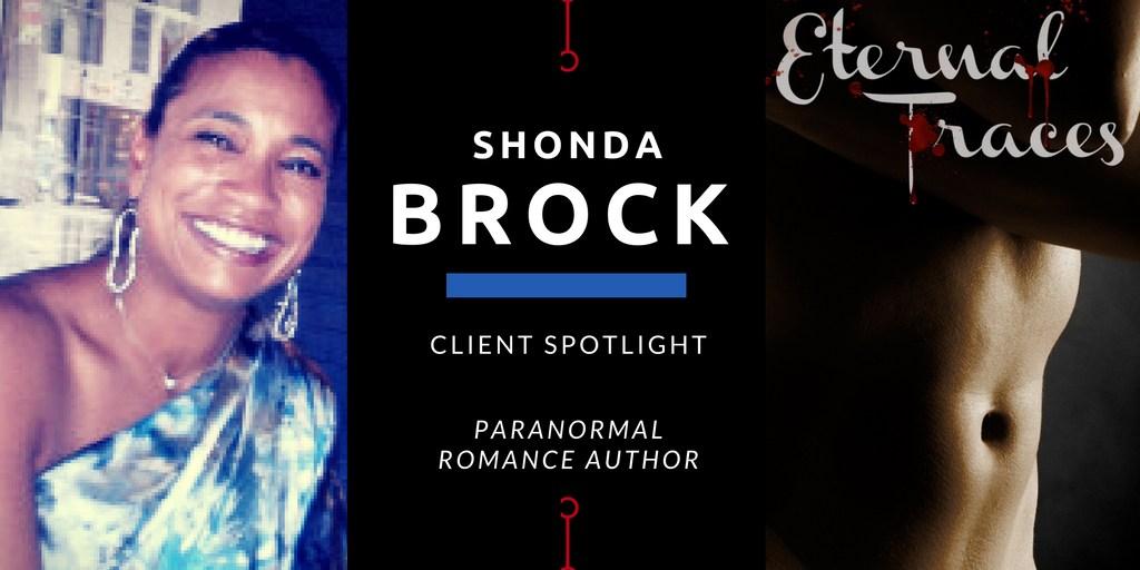 Client Spotlight: Author of Kick-Ass Heroines @ShondaBrock
