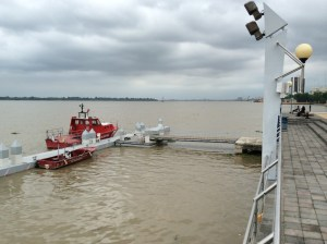 Dock on Guayas River