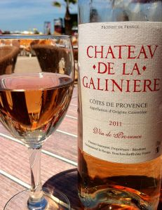 Rose wine from Provence featured in The Wrong David
