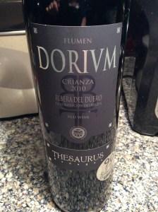 Flumen Dorium Spanish Wine
