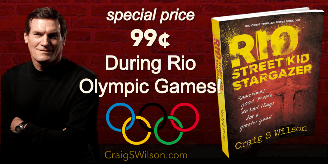 Client Spotlight: Crime Thriller Author Craig S Wilson