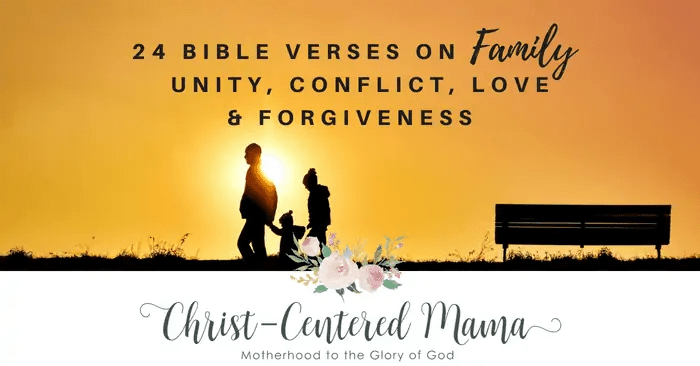 bible verses about family christ centered mama