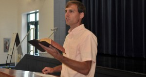 Joseph Bayly Preaching