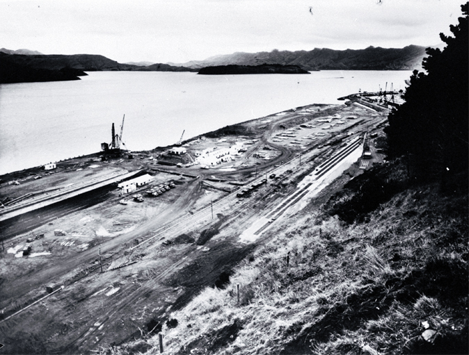 Cashin Quay under construction [ca. 1963]