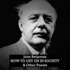 Cover of How to Get on in Society and Other Poems by John Betjeman