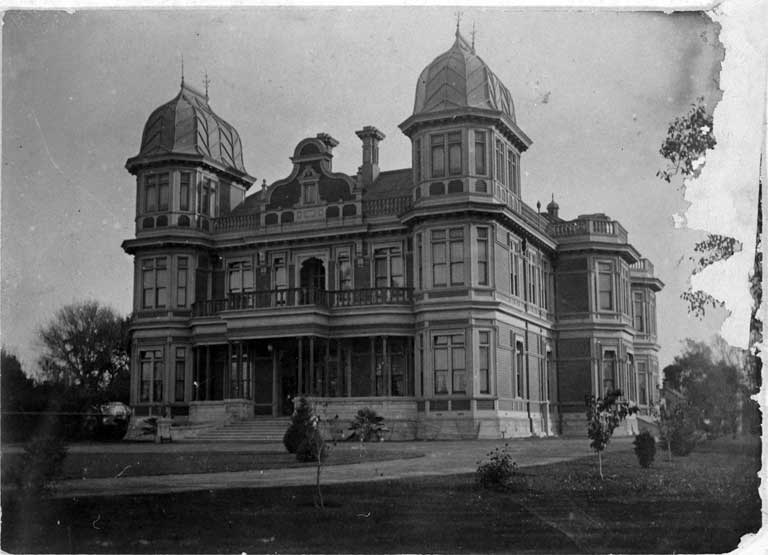 McLeans Mansion, 387 Manchester Street, Christchurch ca. 1900