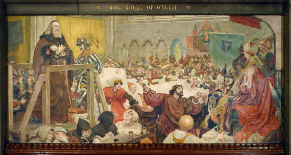 Madox Brown, The Trial of Wycliffe