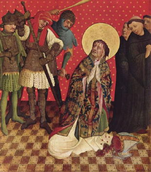 Master Francke, Martyrdom of St Thomas Becket