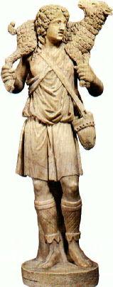 Museo Pio Christiano, The Good Shepherd