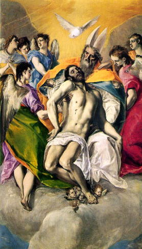 El Greco, The Holy Trinity
