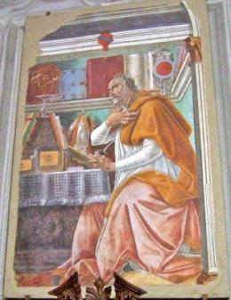 Botticelli, St Augustine (1480)