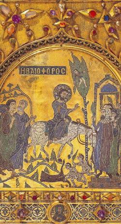 Pala d'Oro, Entrance into Jerusalem