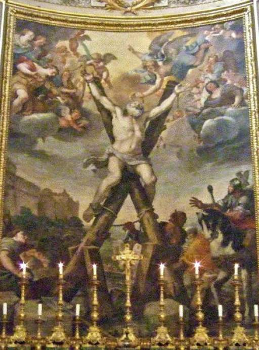 Preti, Crucifixion of St Andrew