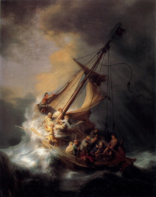 Rembrandt, The Storm Onthe Sea of Galilee