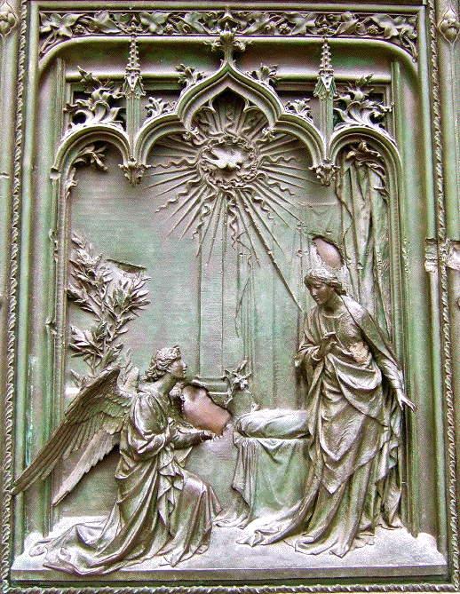 Pogliaghi, Annunciation