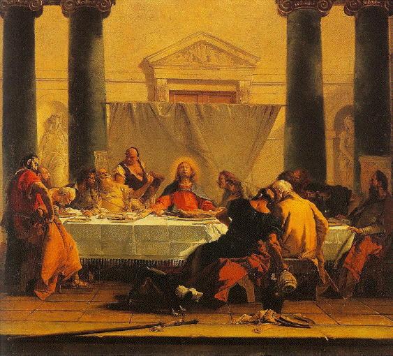 Tiepolo, Last Supper