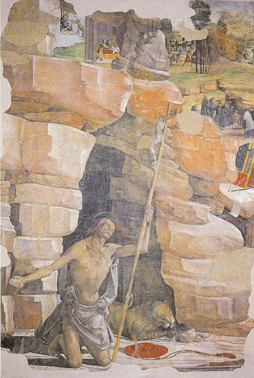 Bartolomeo della Gatta, St. Jerome in the Desert