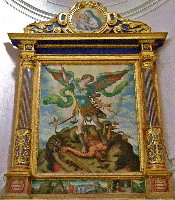 D'Amato, St. Michael defeats Satan