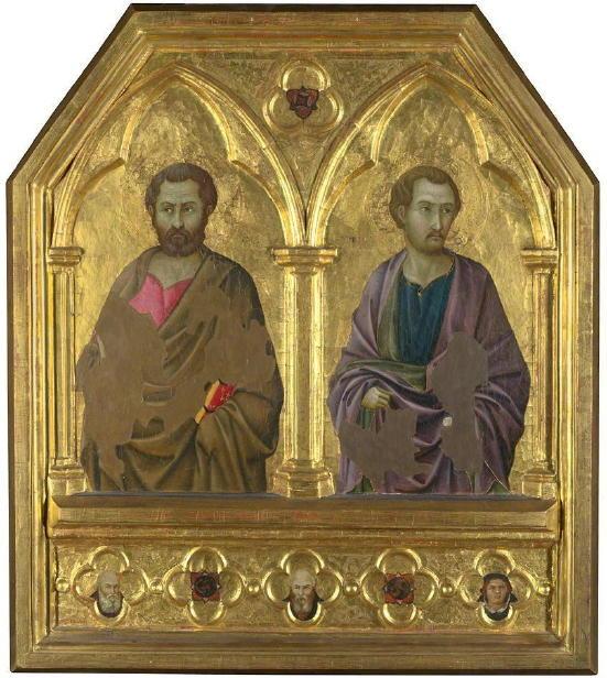 Ugolino, St. Simon and St. Thaddaeus