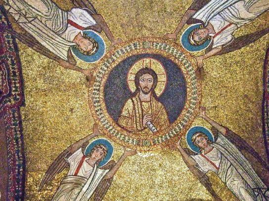 Christ Borne by Angels, Santa Praxedes