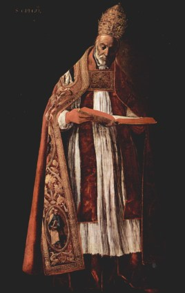 Zurbaran, Saint Gregory the Great