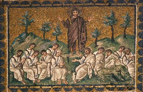 Sant'Apollinare Nuovo, Sermon On the Mount